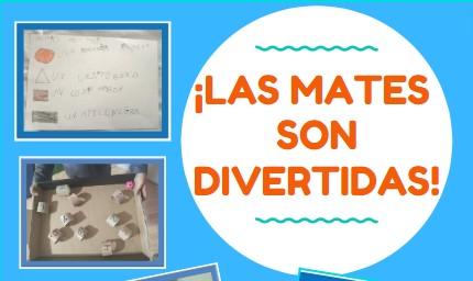 ¡LAS MATEMATICAS SON DIVERTIDAS!