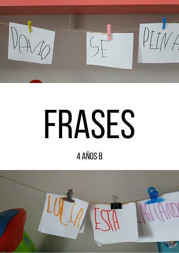 FRASES – 4 AÑOS B