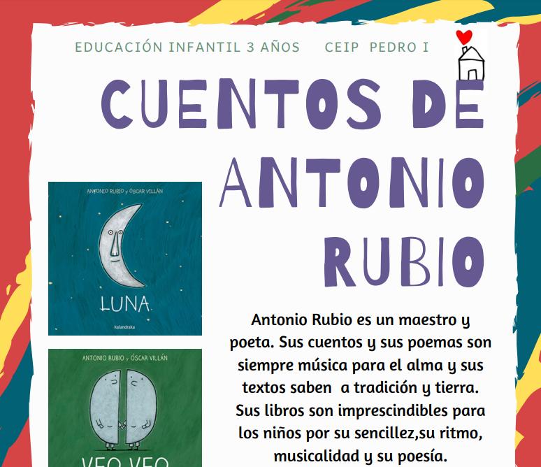 CUENTOS ANTONIO RUBIO