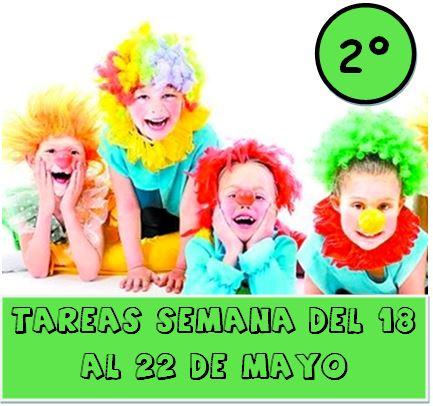2º  TAREAS DEL 18 AL 22 DE MAYO