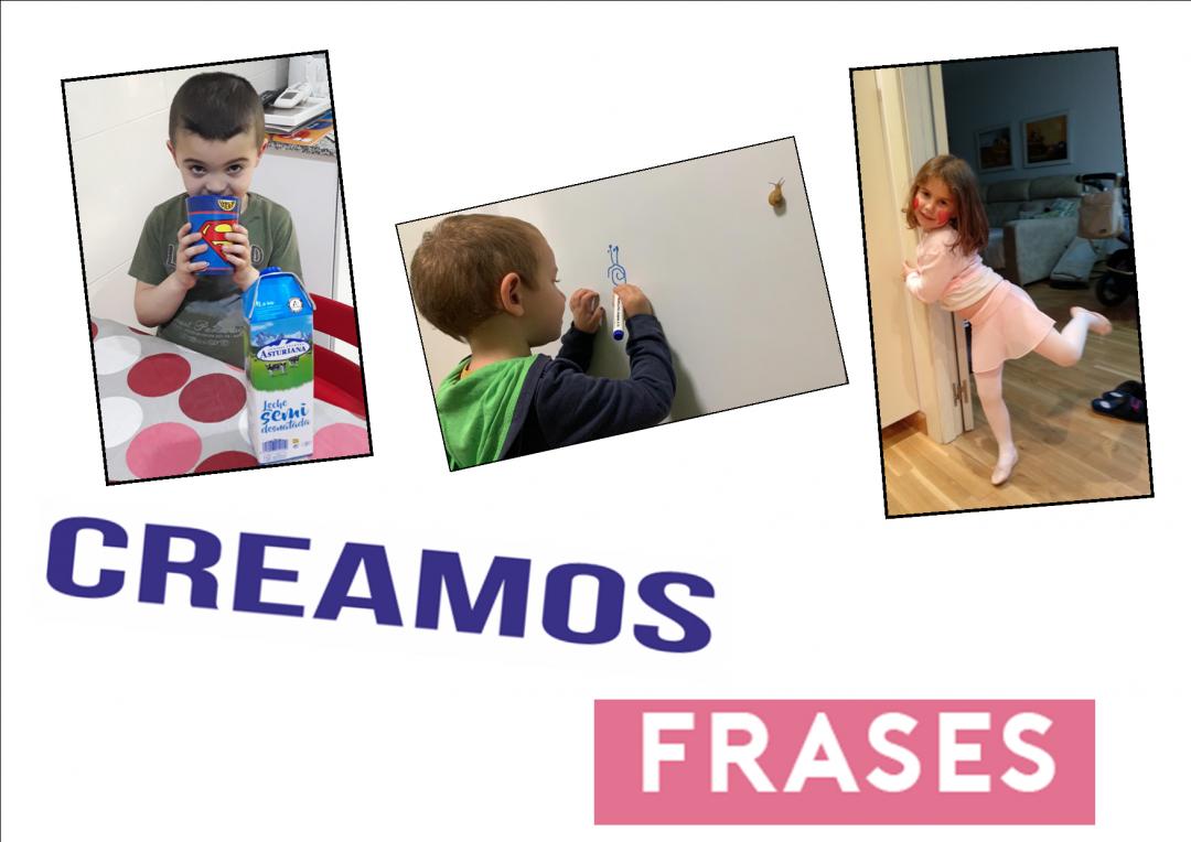 CREAMOS FRASES 4 AÑOS B