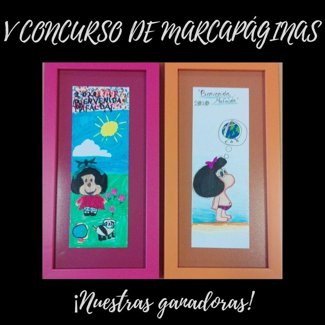 V CONCURSO DE MARCAPÁGINAS